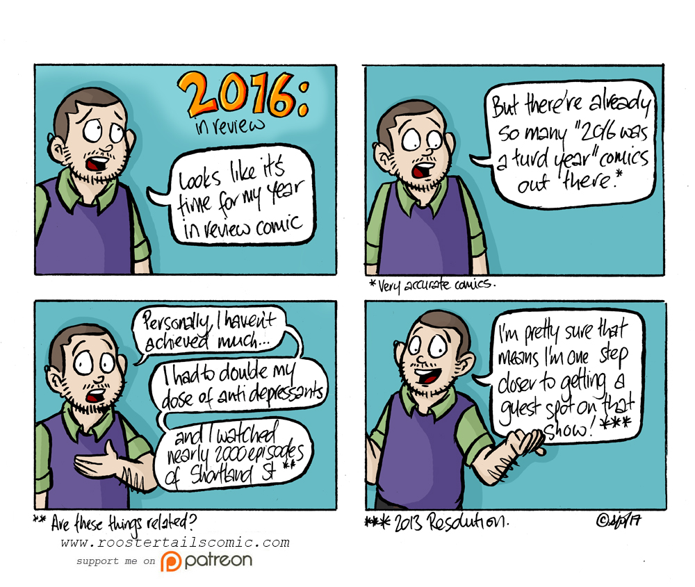There really are many other better 2016 is a turd comics out there.